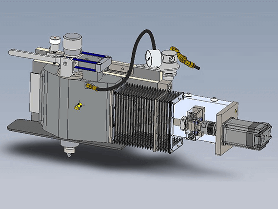 Standard Air Sensing Dressers used on Basic Centerless Grinder Systems
