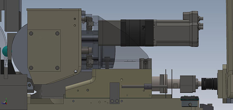 Roller Bearing System for Ball Grinder